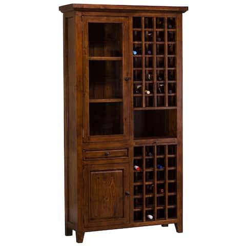 Hillsdale Furniture's Tuscan Retreat Tall Wine Storage
