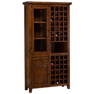 Hillsdale Furniture's Tuscan Retreat Tall Wine Storage