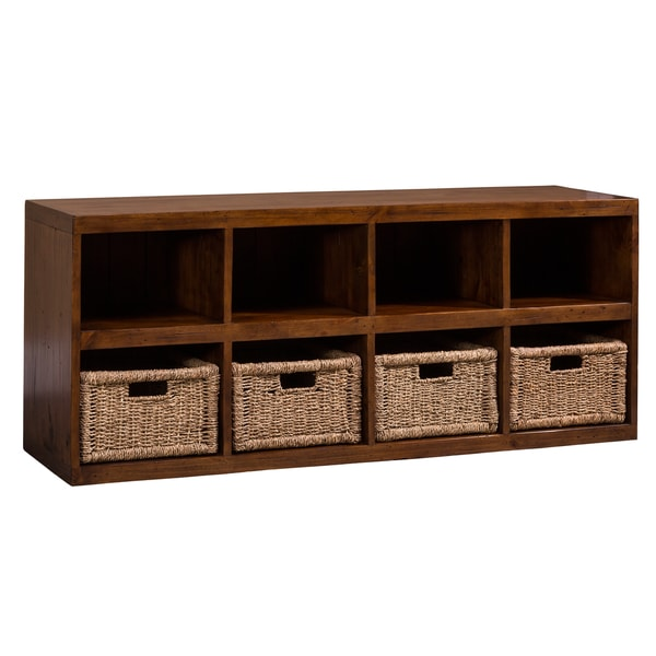 Charming Hillsdale Furnitureu0026#x27;s Tuscan Retreat Storage Cube With Baskets
