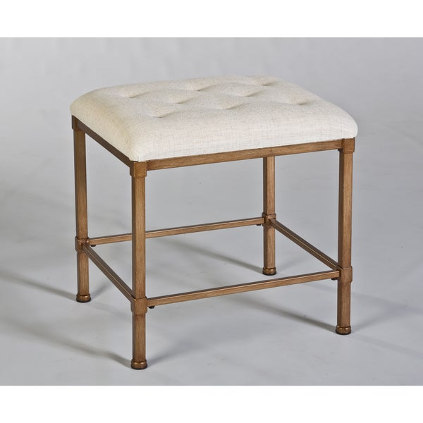 Hillsdale Furniture's Katherine Backless Vanity Stool
