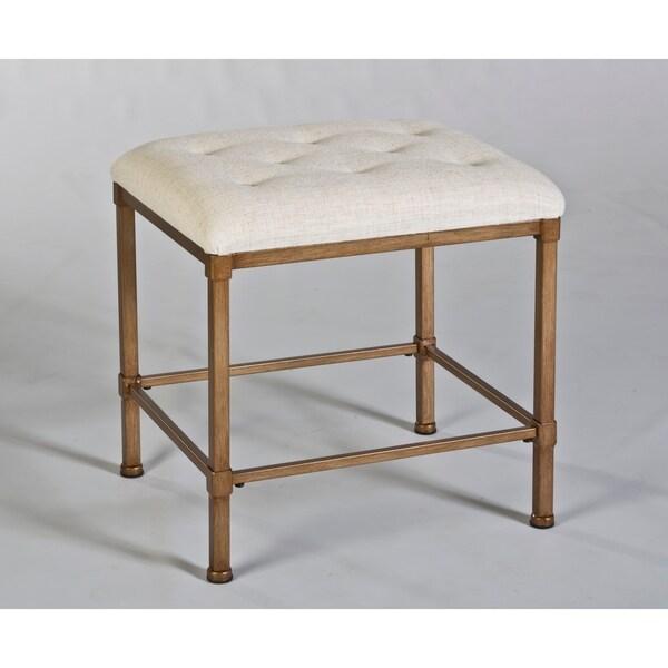 Shop Hillsdale Furniture S Katherine Backless Vanity Stool