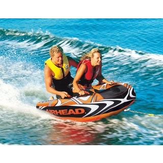 Airhead Slash II Double-rider Towable Inflatable Tube