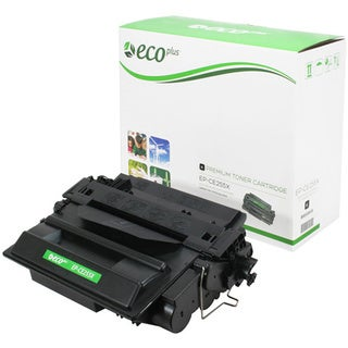 ECOPLUS HP 55X (CE255X) Toner Cartridge (Black)