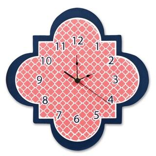 Trend Lab Multi Quatrefoil Wall Clock