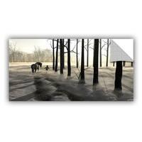 ArtWall Cynthia Decker  ' Winter Walk ' Art Appealz Removable Wall Art