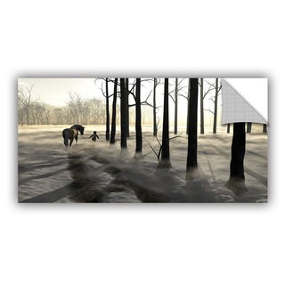 ArtWall Cynthia Decker ' Winter Walk ' Art Appealz Removable Wall Art