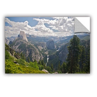 ArtWall Dan Wilson  ' Yosemite-Half Dome Vernal Falls And Nevada Falls ' Art Appealz Removable Wall Art
