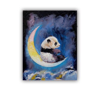 ArtWall Michael Creese ' Crescent Moon ' Art Appealz Removable Wall Art (3 options available)