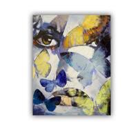 ArtWall Michael Creese  ' Gothic Butterflies ' Art Appealz Removable Wall Art
