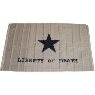 Super Polyester Goliad Battle 'Liberty or Death' Flag (3' x 5')