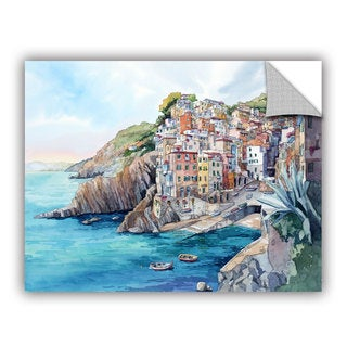 Bill Drysdale ' Riomaggiore ' Art Appeals Removable Wall Art (3 options available)