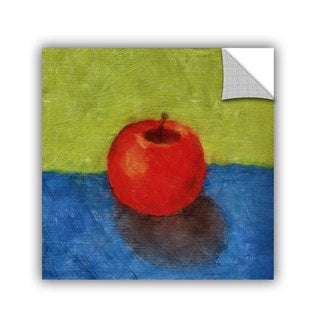ArtWall Kevin Calkins ' Apple With Green And Blue ' Art Appeals Removable Wall Art