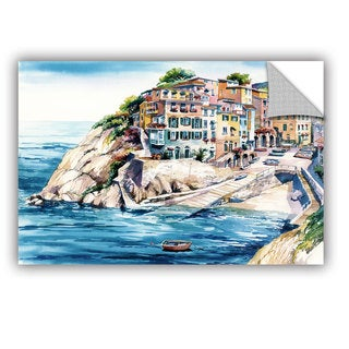 Bill Drysdale ' Cinque Terra ' Art Appeals Removable Wall Art