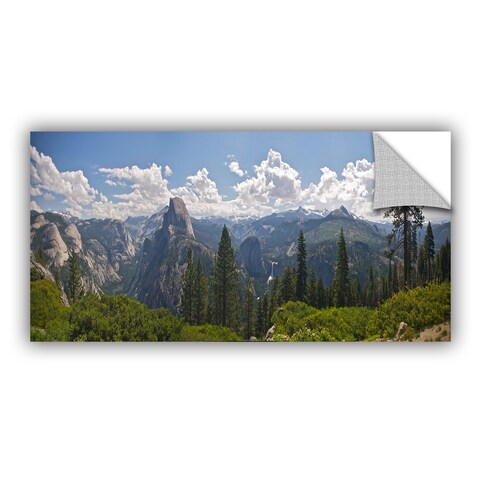 ArtWall Dan Wilson ' Yosemite-Half Dome And Nevada Falls ' Art Appealz Removable Wall Art