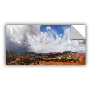 ArtWall Dan Wilson ' Utah Stormy Panorama ' Art Appealz Removable Wall Art