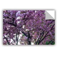ArtWall Dan Wilson  ' Spring Flowers ' Art Appealz Removable Wall Art