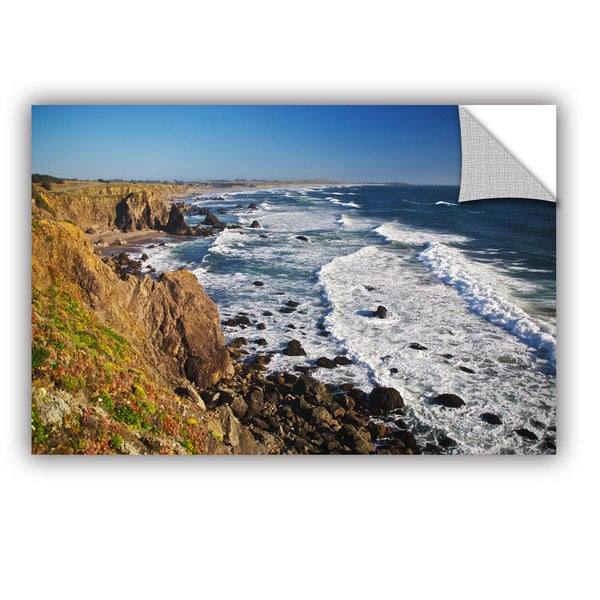 ArtWall Dan Wilson  ' Sonoma Coast ' Art Appealz Removable Wall Art