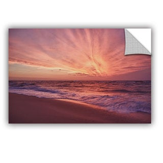 ArtWall Dan Wilson ' Outer Banks Sunset Iii ' Art Appealz Removable Wall Art