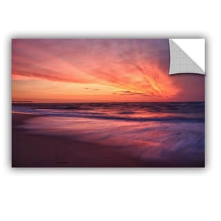 ArtWall Dan Wilson ' Outer Banks Sunset Ii ' Art Appealz Removable Wall Art