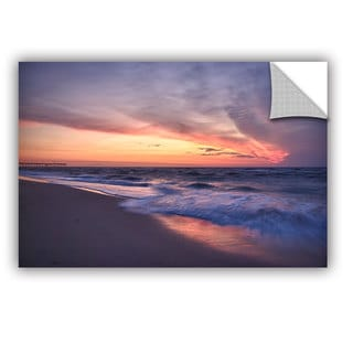 ArtWall Dan Wilson ' Outer Banks Sunset I ' Art Appealz Removable Wall Art