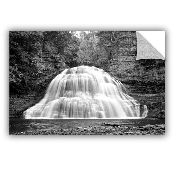 ArtWall Dan Wilson  ' New York-Treman Falls ' Art Appealz Removable Wall Art
