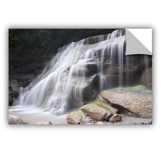 ArtWall Dan Wilson ' New York Rattlesnake Gulf Waterfall ' Art Appealz Removable Wall Art (4 options available)