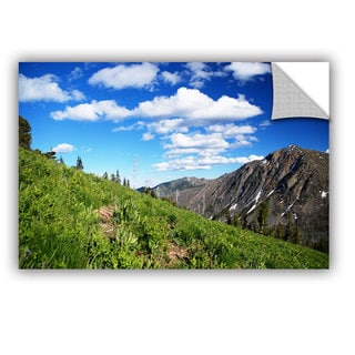 ArtWall Dan Wilson  ' Mountain Meadow ' Art Appealz Removable Wall Art