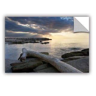 ArtWall Dan Wilson  ' Lake Erie Sunset Ii ' Art Appealz Removable Wall Art