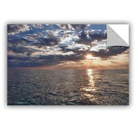 ArtWall Dan Wilson  ' Lake Erie Sunset I ' Art Appealz Removable Wall Art