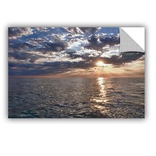 ArtWall Dan Wilson ' Lake Erie Sunset I ' Art Appealz Removable Wall Art