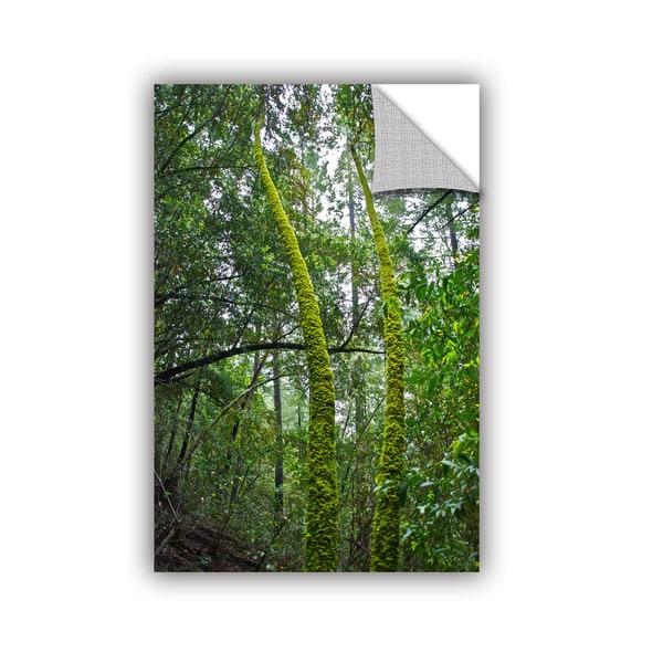 ArtWall Dan Wilson ' Green Trees ' Art Appealz Removable Wall Art