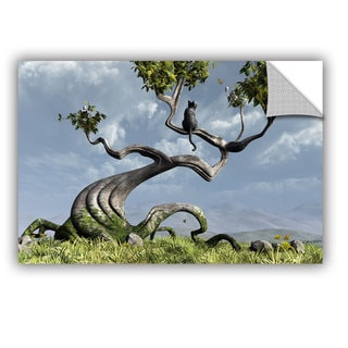ArtWall Cynthia Decker ' Sitting Tree ' Art Appealz Removable Wall Art