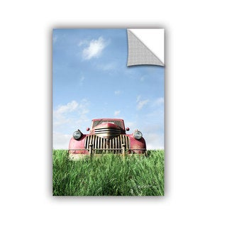 ArtWall Cynthia Decker ' Red Truck ' Art Appealz Removable Wall Art (4 options available)