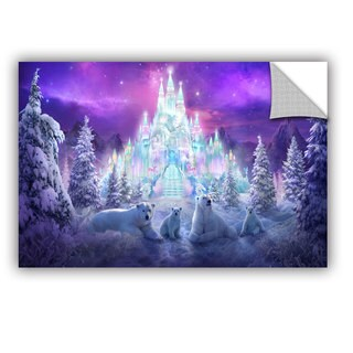 ArtWall Philip Straub ' Winter Wonderland ' Art Appealz Removable Wall Art