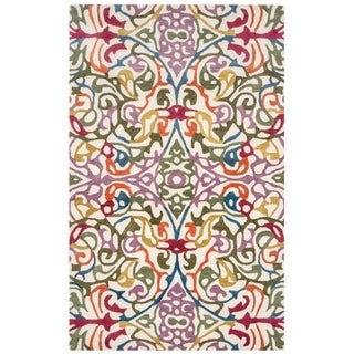 Rizzy Home Abstract Bradberry Downs Wool Accent rug (5' x 8') - 5' x 8'