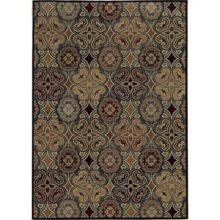 Rizzy Home Floral Ivory Bradberry Downs 100-percent Wool Hand-Tufted Accent rug (2' x 3')