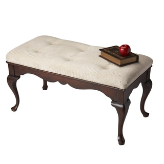 Queen Anne Bench - Plantation Cherry