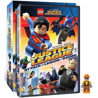 Lego DC Comics Super Heroes: Justice League: Attack of The Legion of Doom! (DVD)