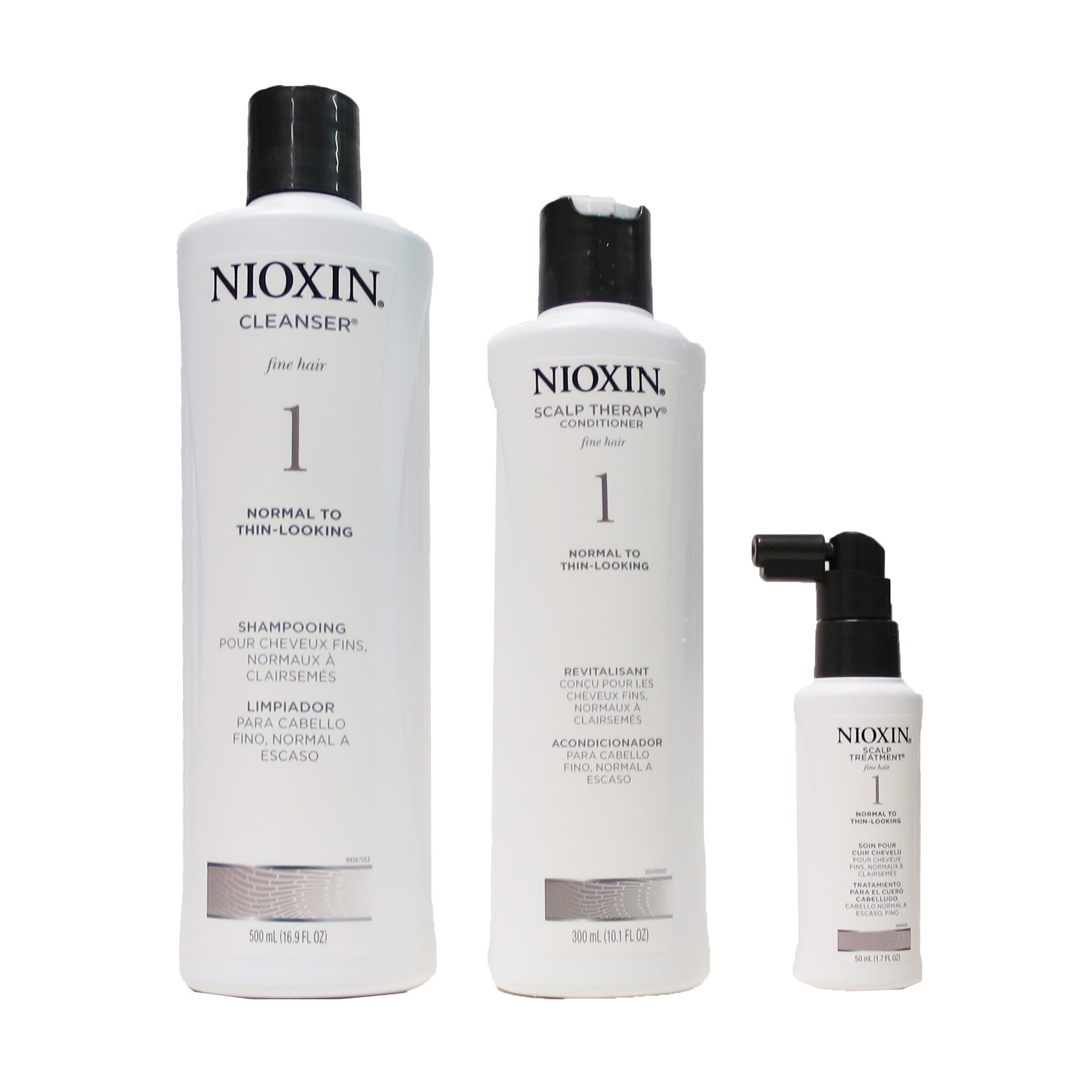 Nioxin System 1 Thinning Hair Kit for Normal to Thin Hair...