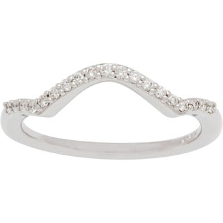 Boston Bay Diamonds 14k White Gold 1/4ct Diamond Wedding Band (H-I, SI1-SI2)