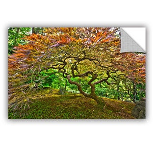 ArtWall Cody York ' Portland Japanese Garden 3 ' Art Appealz Removable Wall Art