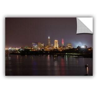 Cody York' Cleveland Skyline 11' Art Appealz Removable Wall Art