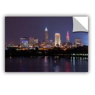 Cody York' Cleveland Skyline 10' Art Appealz Removable Wall Art