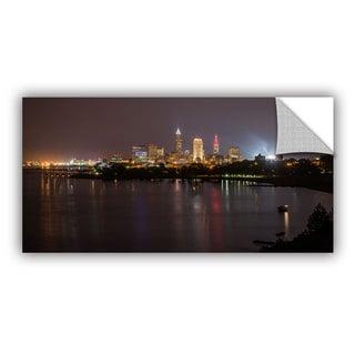 Cody York' Cleveland Skyline 9' Art Appealz Removable Wall Art