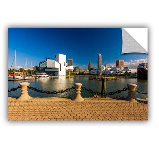 Cody York' Cleveland Skyline 8' Art Appealz Removable Wall Art