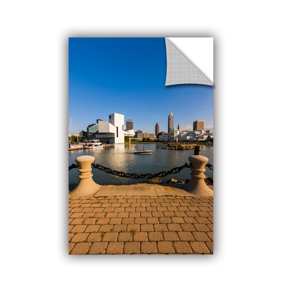 Cody York' Cleveland Skyline 6' Art Appealz Removable Wall Art