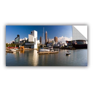 Cody York' Cleveland Skyline 4' Art Appealz Removable Wall Art