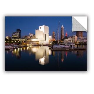 Cody York' Cleveland Skyline 3' Art Appealz Removable Wall Art