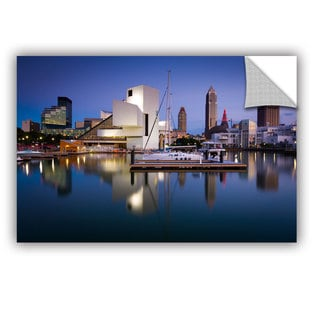Cody York' Cleveland Skyline 1' Art Appealz Removable Wall Art