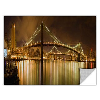 ArtWall Cody York ' Brooklyn Bridge ' Art Appealz Removable Wall Art